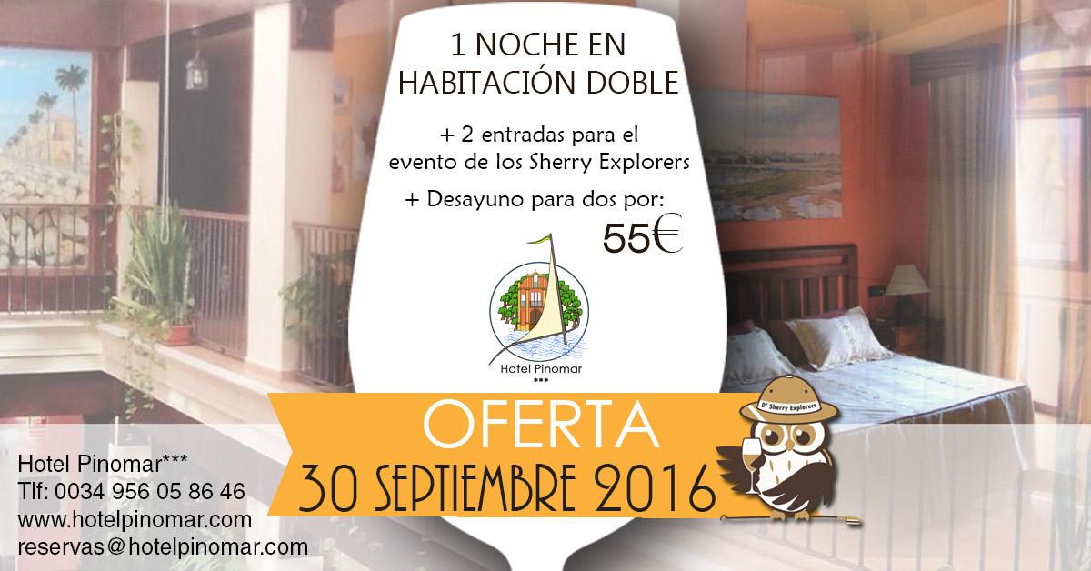 oferta alojamiento sherry septiembre2016