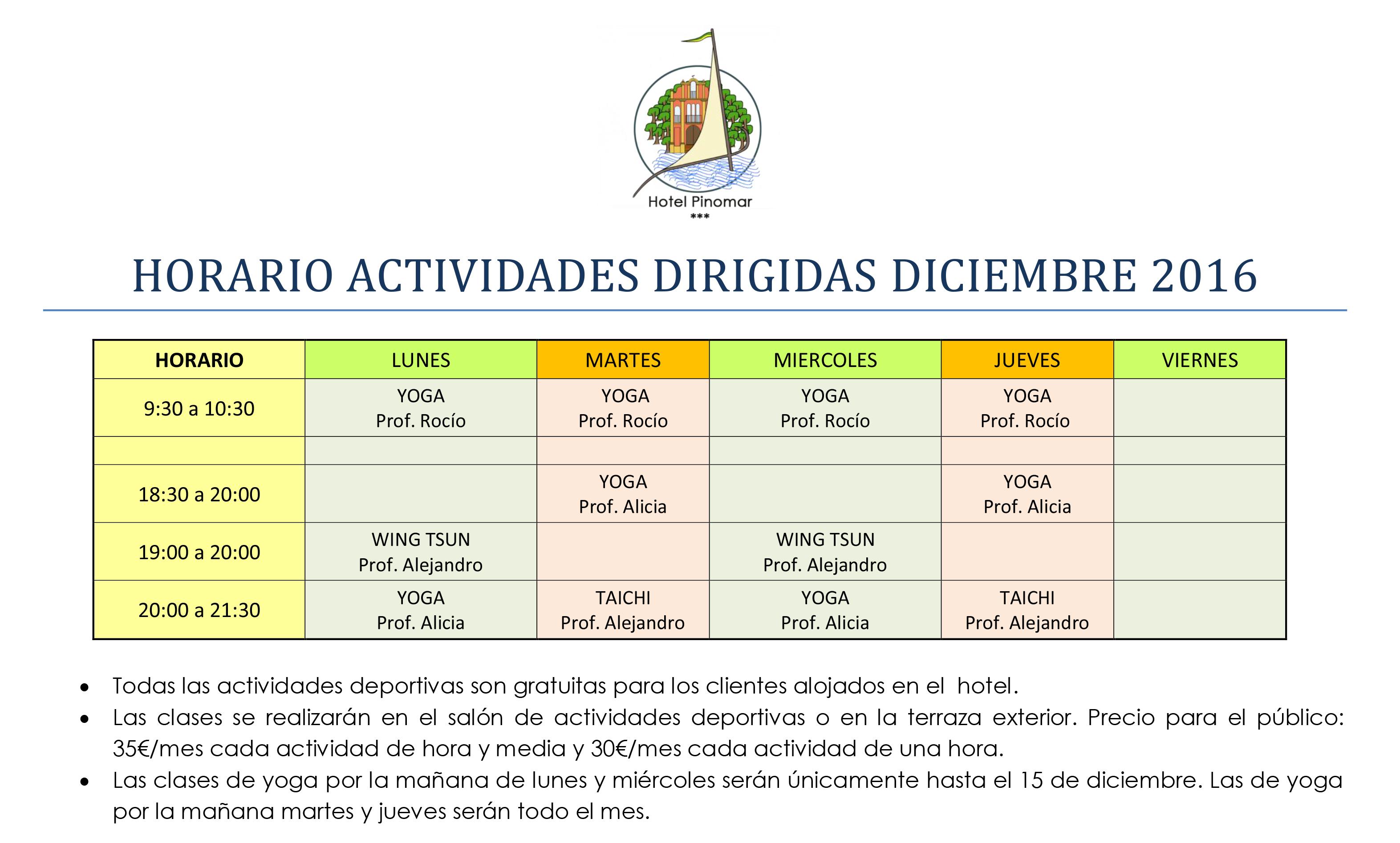 horario-actividades-dirigidas-diciembre-2016