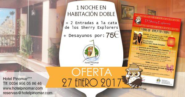 oferta alojamiento cata enero 2017