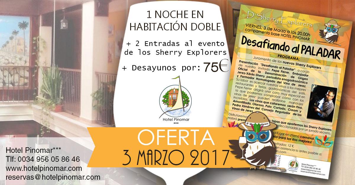 oferta alojamiento cata marzo 2017