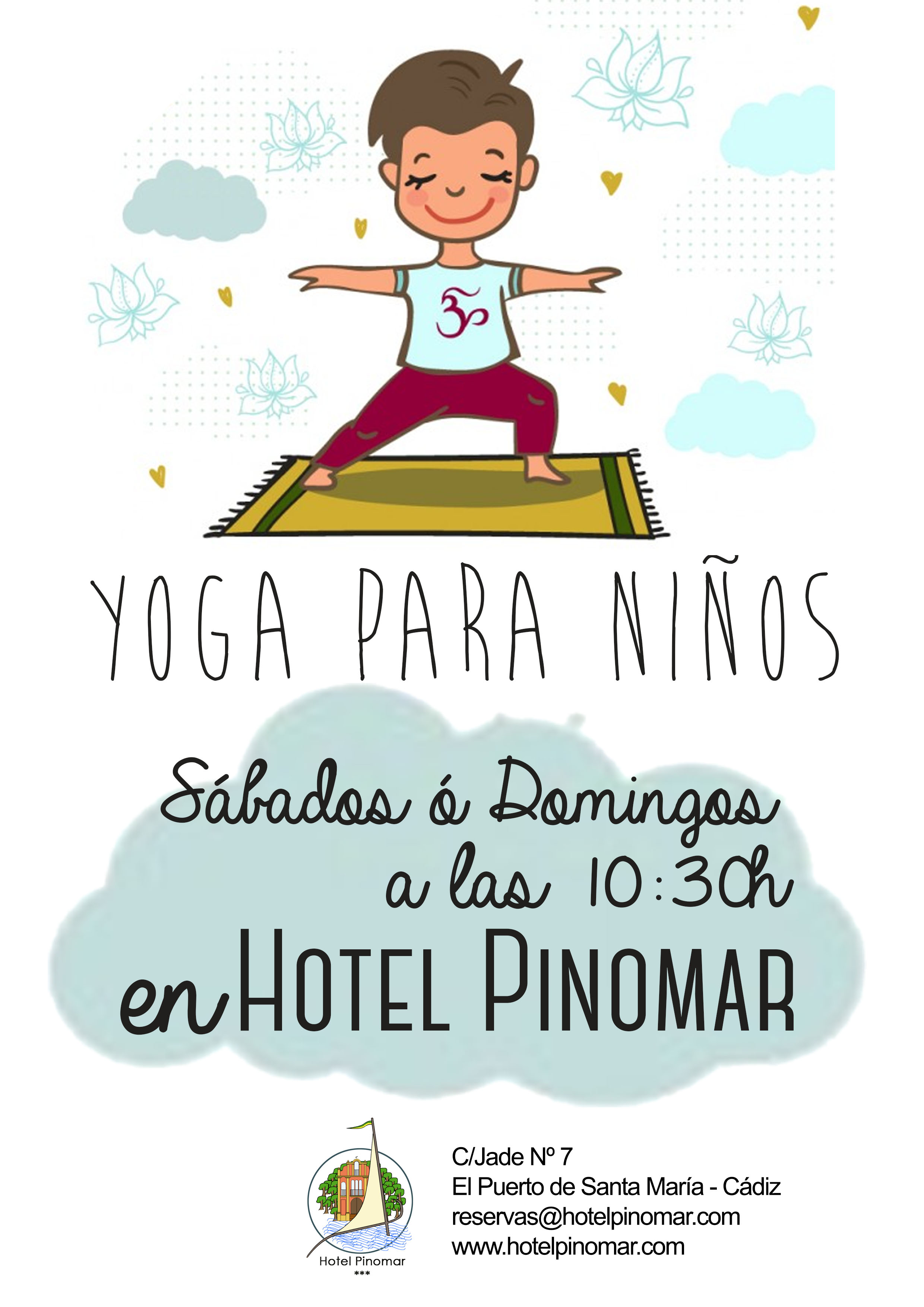 yoga niños clases