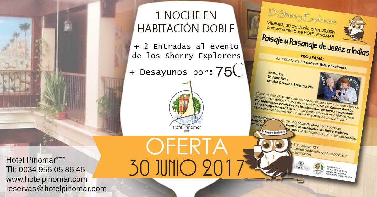 oferta alojamiento junio 2017