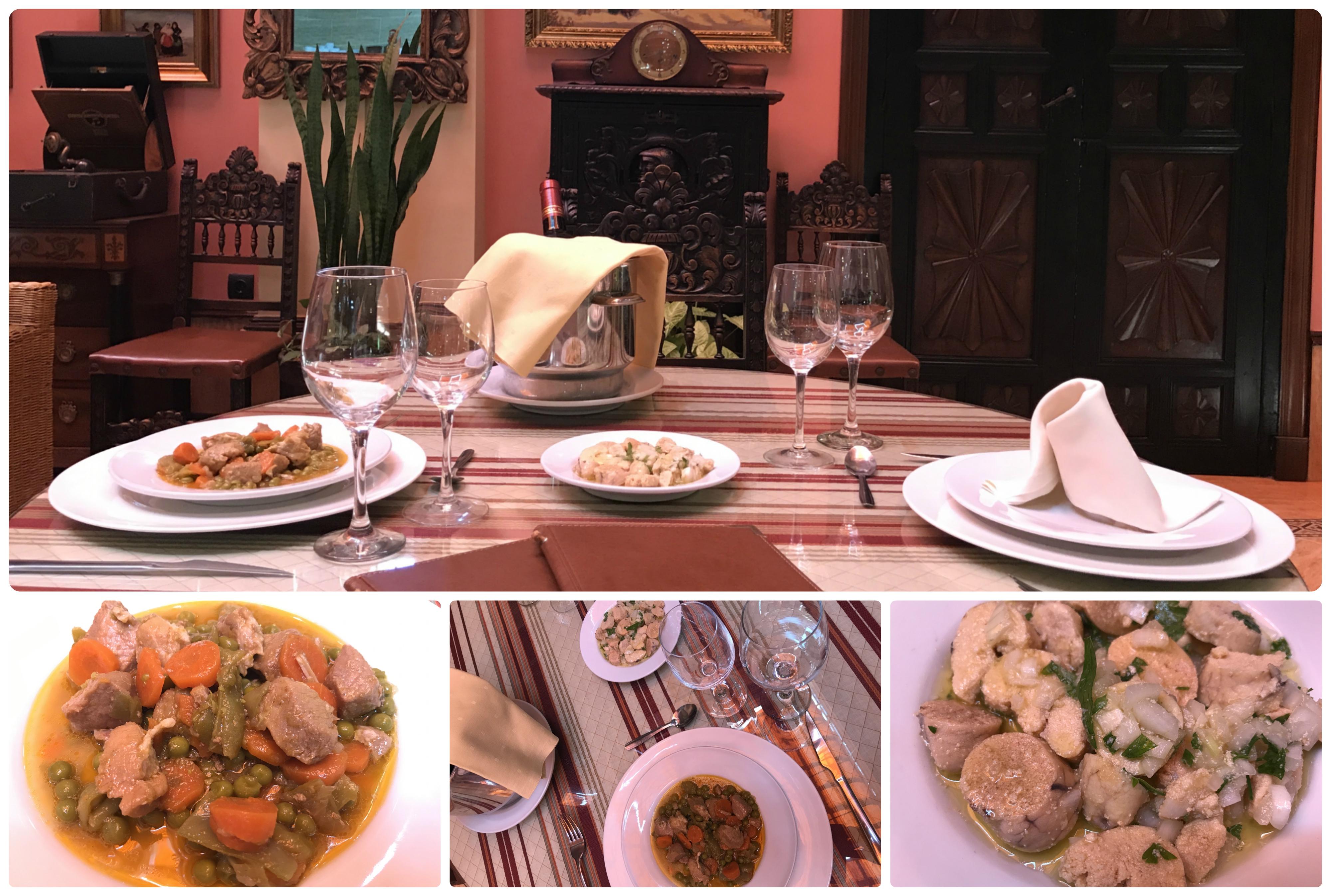 collage restaurante