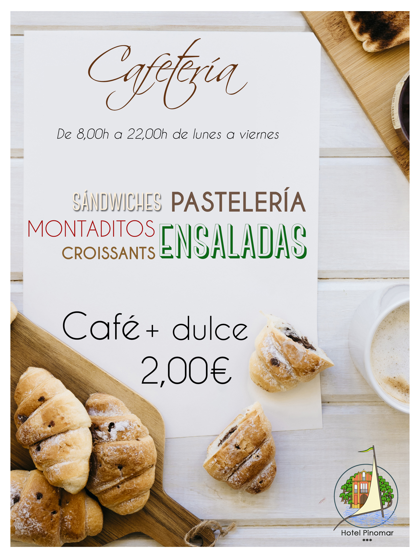 FLYER OFERTA CAFE Y DULCE