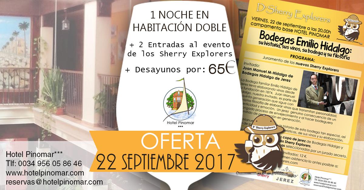 oferta alojamiento septiembre 2017