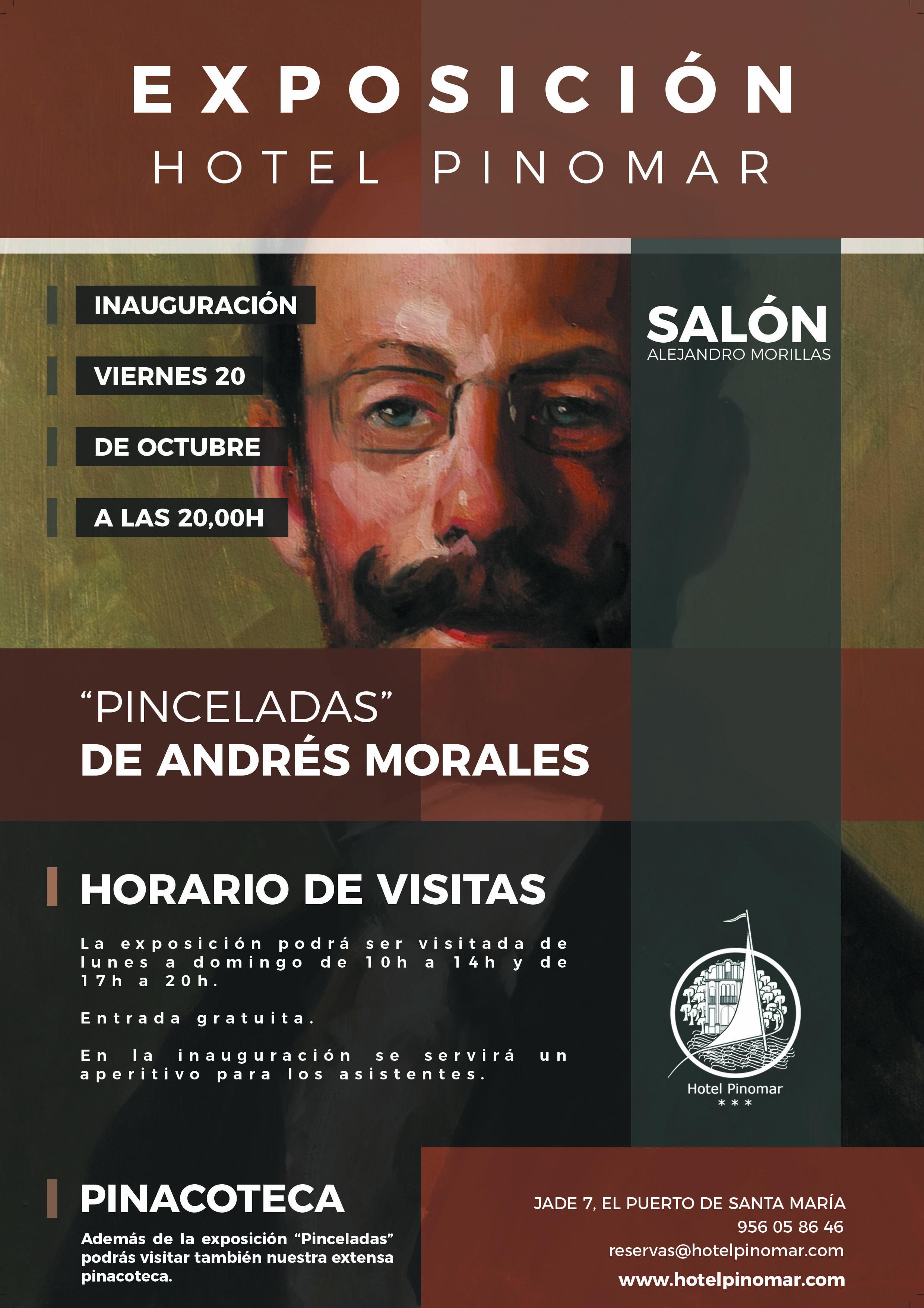 exposición pinceladas de Andrés Morales