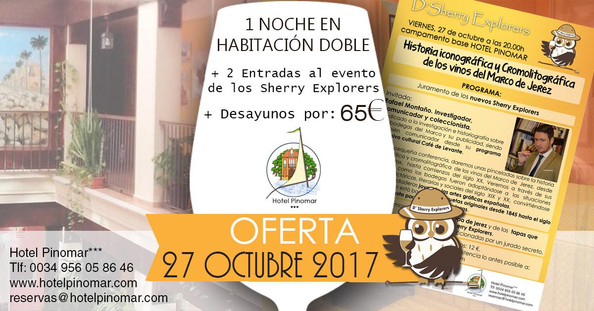 oferta alojamiento octubre 2017