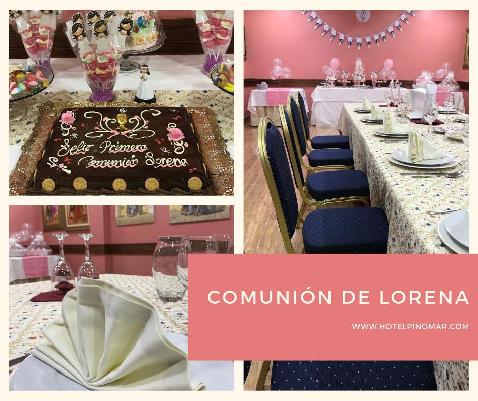 Comunión de Lorena 2019