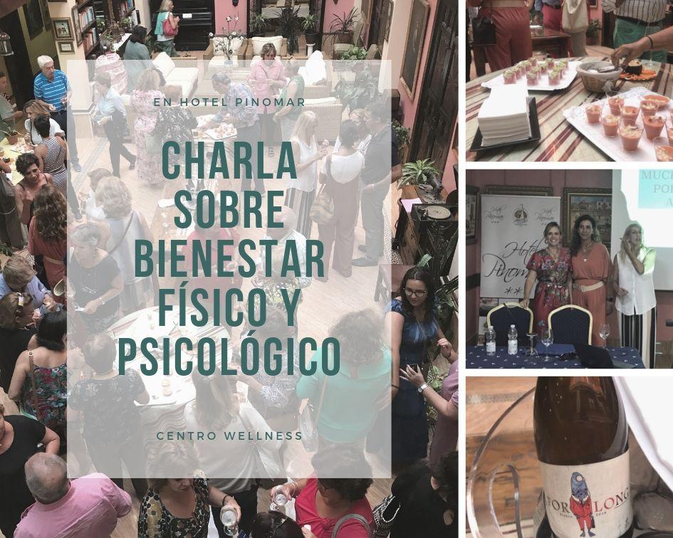 charla sobre bienestar físico y psicológico