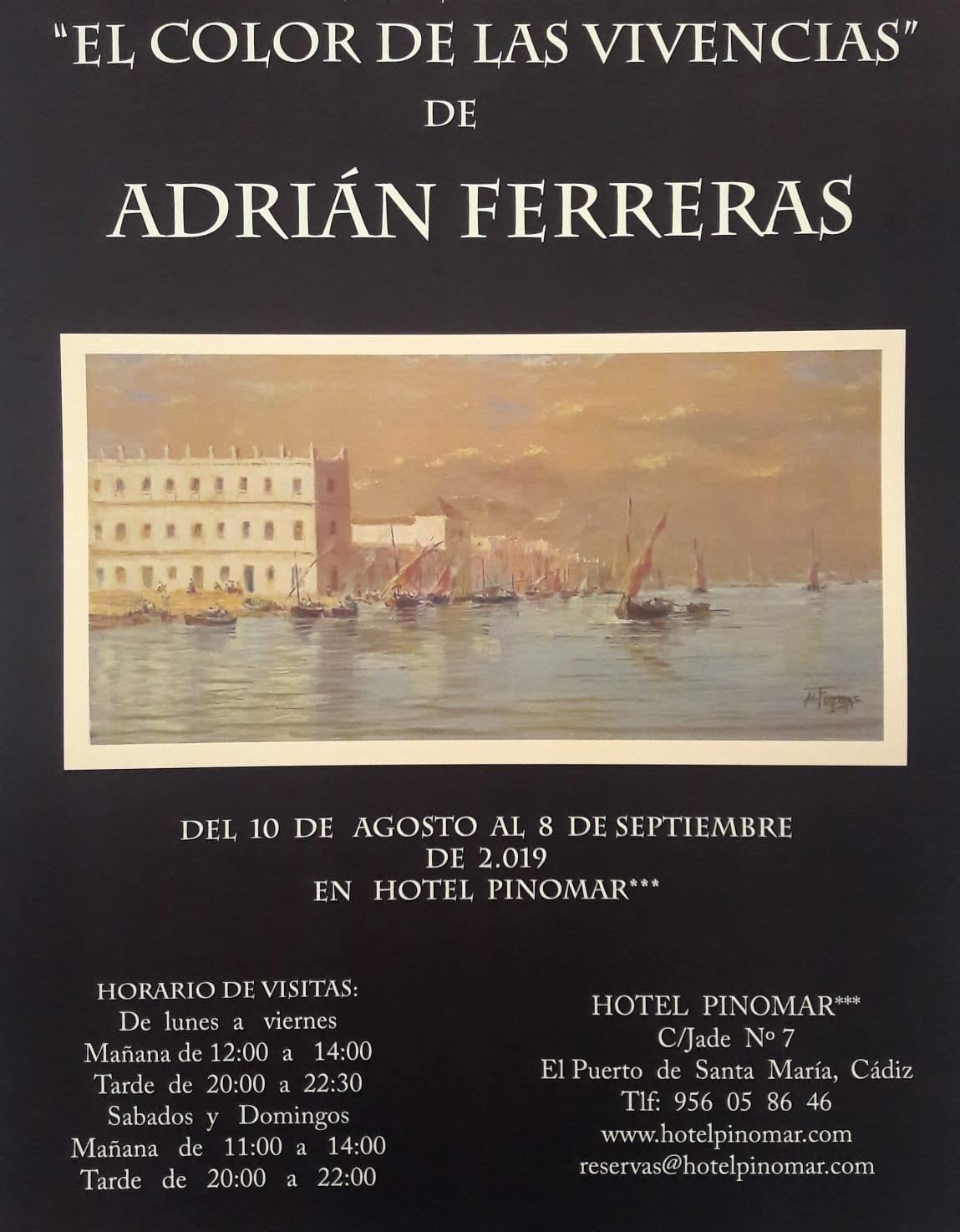 exposición Adrián Ferreras