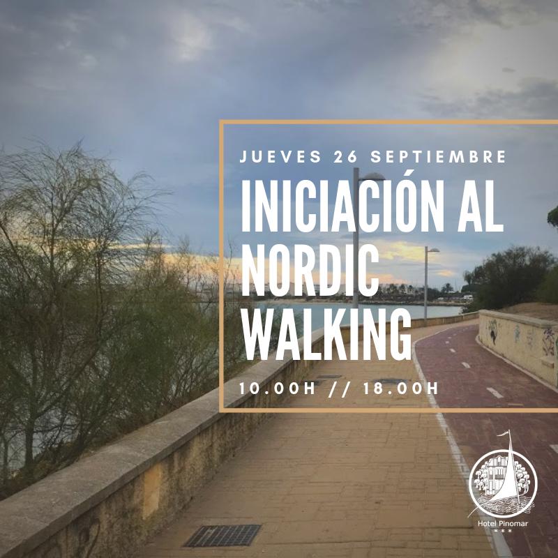 iniciación al nordic walking