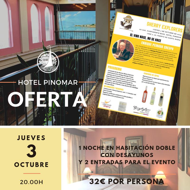 oferta sherry explorers 3 octubre